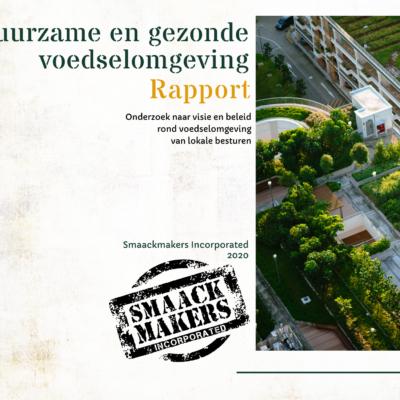 Rapport Duurzame  & Gezonde Voedselomgeving